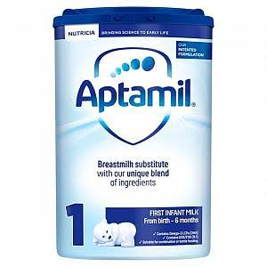 Aptamil 1 First Baby Milk Formula - 800g
