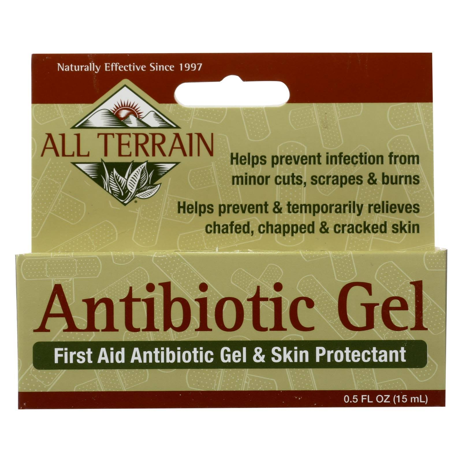 All Terrain First Aid Antibiotic Gel - 0.5oz