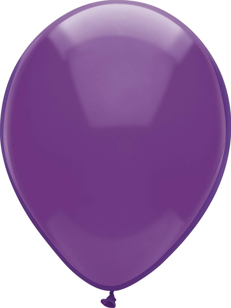 "Pioneer Balloon Latex Balloons - Regal Purple, 12"", 72ct"