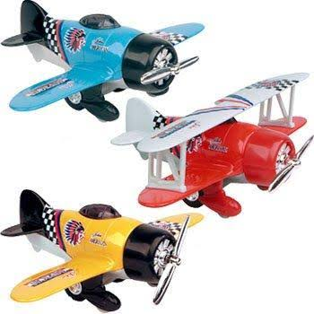 Toysmith Classic Pull Back Plane Toy