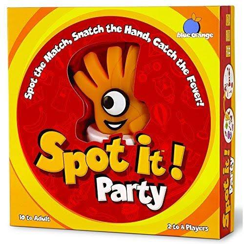 Blue Orange Games Spot It! Party Board Game