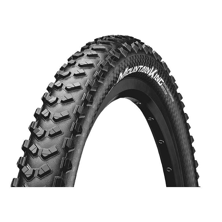 "Continental Mountain King Tire - 29"" x 2.3"", Tubeless, Folding, Black, 240TPI"