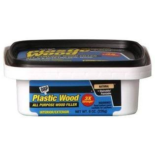 DAP 08135 Plastic Carpenter's Latex Wood Filler - 237ml, Natural