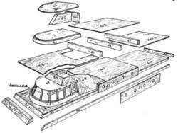 radio controlled power boat plans and blueprints