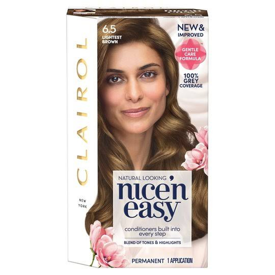 Nice'n Easy Permanent Hair Dye - 6.5 Light Brown