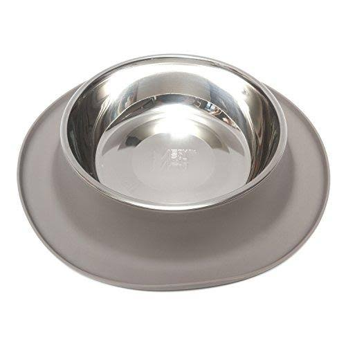 Messy Mutts Stainless Steel Dog Feeder with Non-Slip Silicone Base