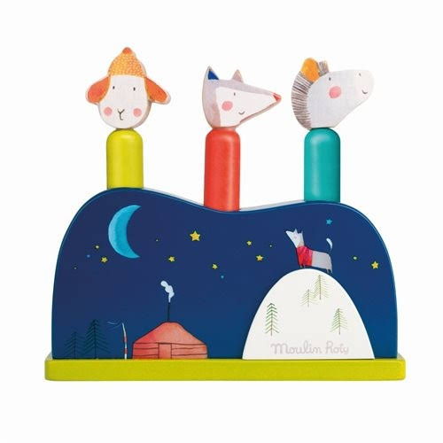 Pop Up Toy Les Zig et Zag Moulin Roty