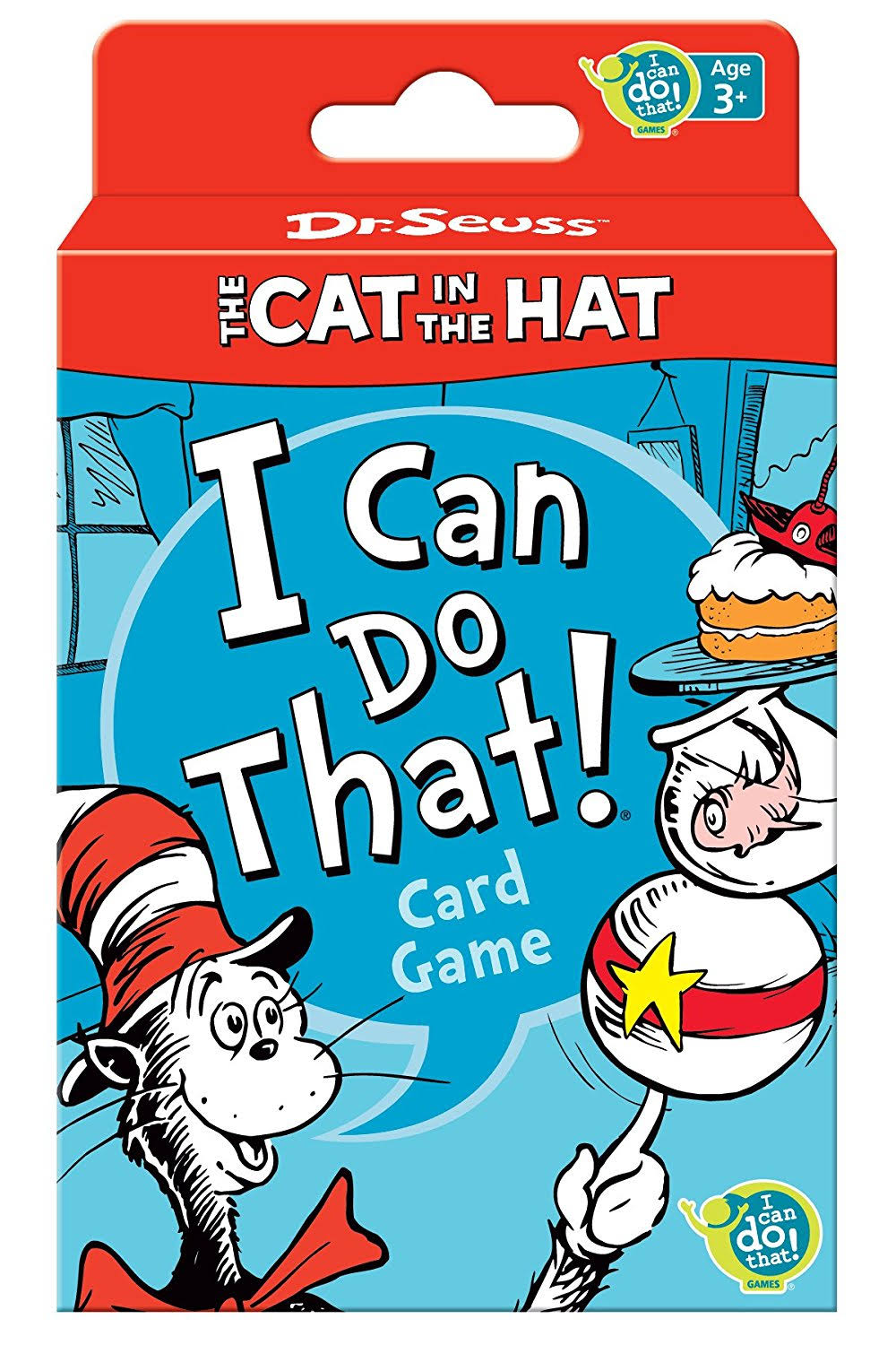 Dr. Seuss Cat In the Hat I Can Do That! Card Game