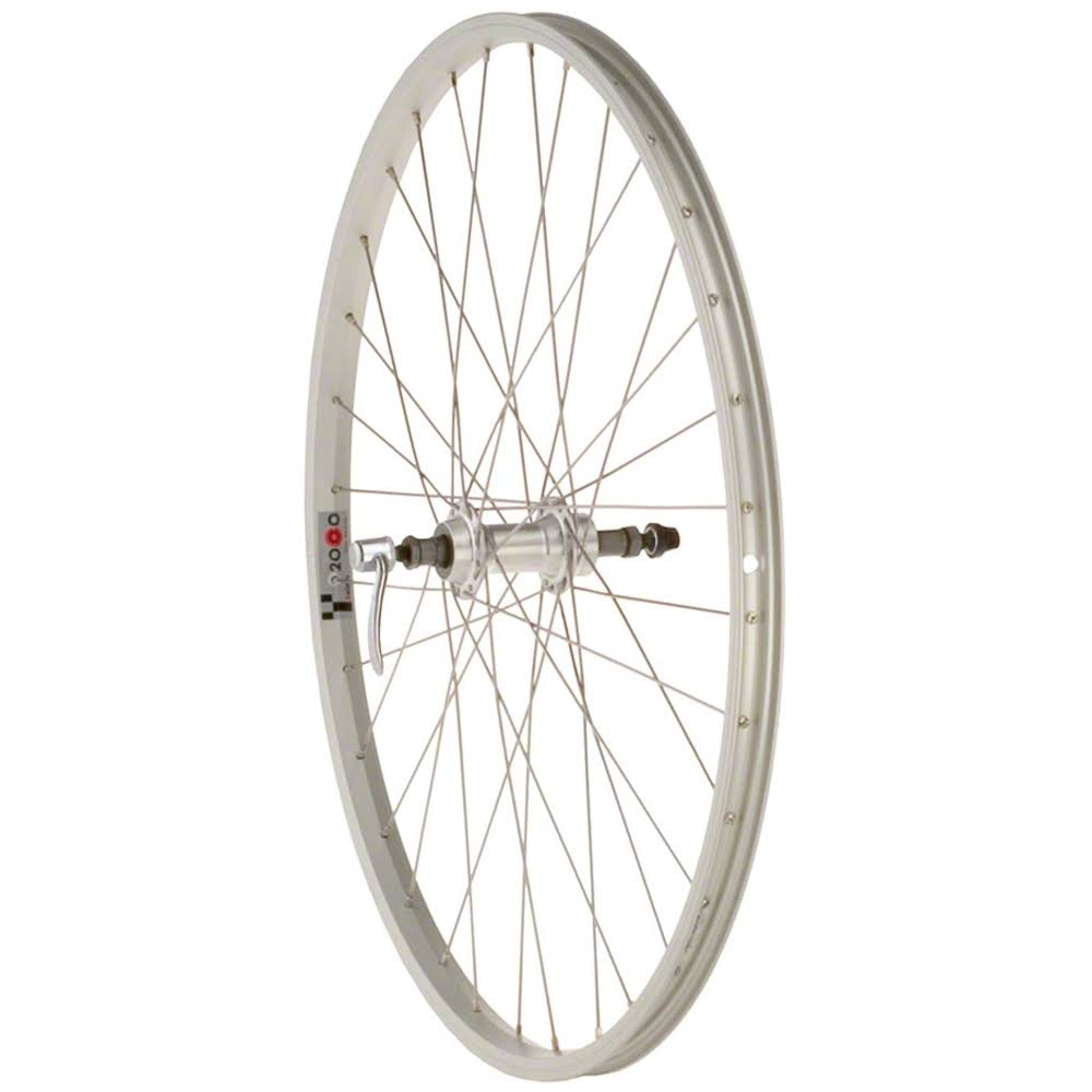 Quality Wheels Value Series 1 Pavement Rear Wheel - 135mm, Silver