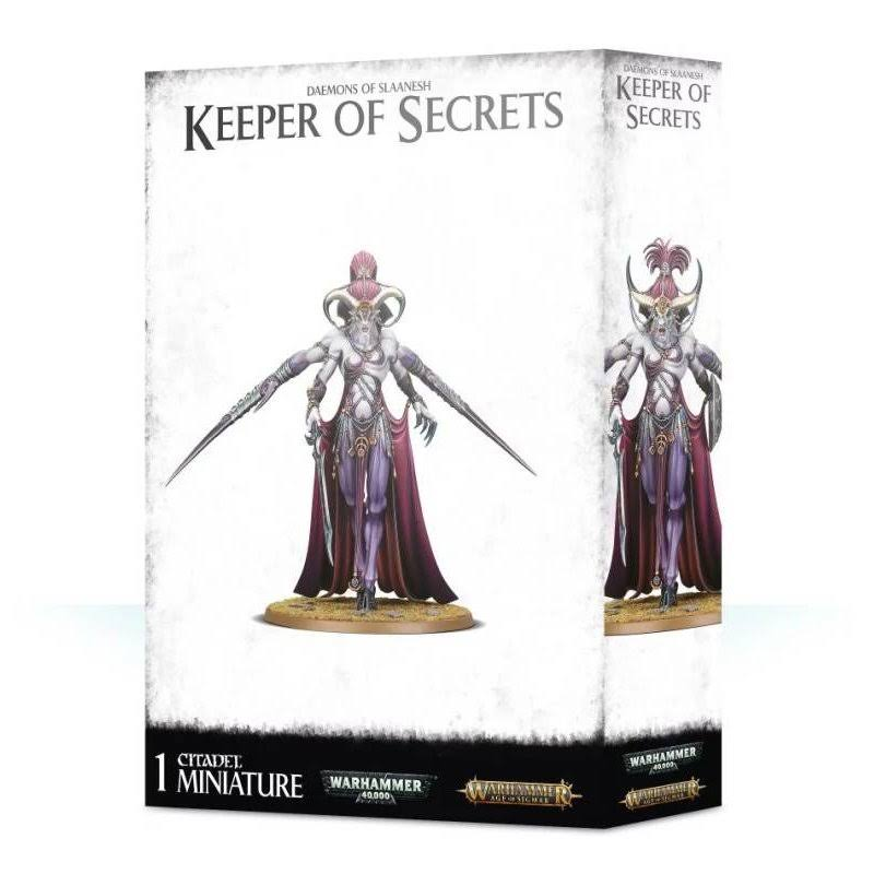 Daemons of Slaanesh - Keeper of Secrets