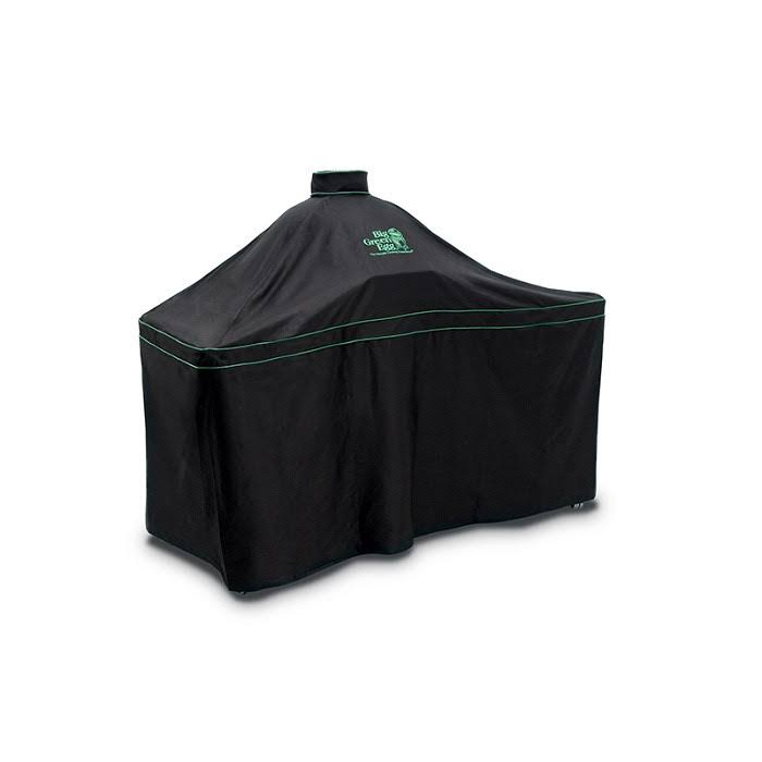 Big Green Egg Large Egg and Hardwood Table Cover - Black