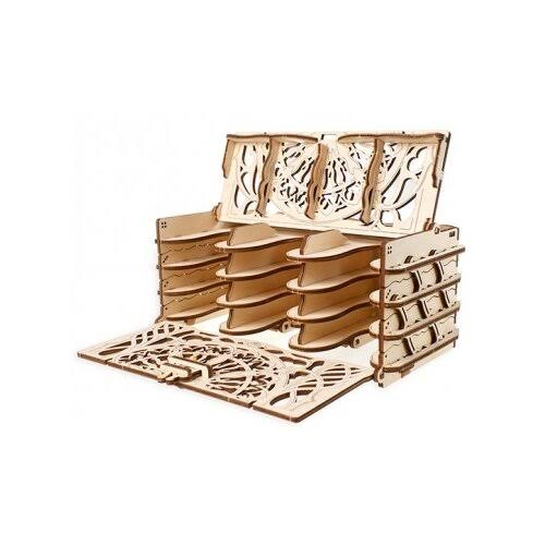 Ugears UTG0055 Card Holder Wooden 3D Model Kit