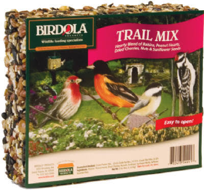 Birdola 54441 Trail Mix Seed Cake - 3oz