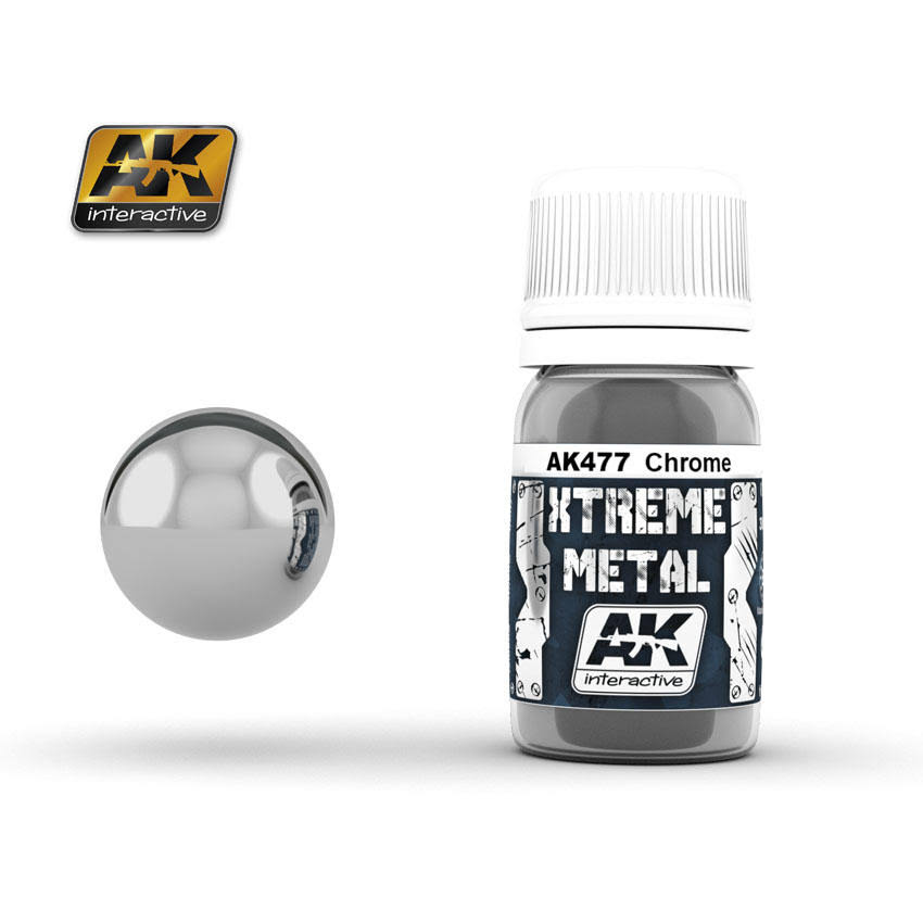 AK Interactive Xtreme Metal Paint - Chrome