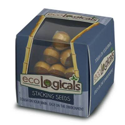 Puzzles Eco Mini Brainteaser - Stacking Seeds