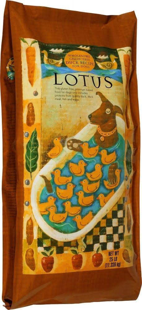 Lotus Wholesome Grain Free Duck Recipe Dry Dog Food - 10lb