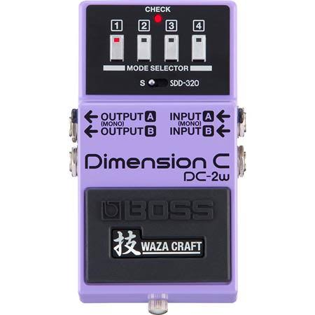 Boss DC-2W Waza Craft Dimension C Effects Guitar Pedal