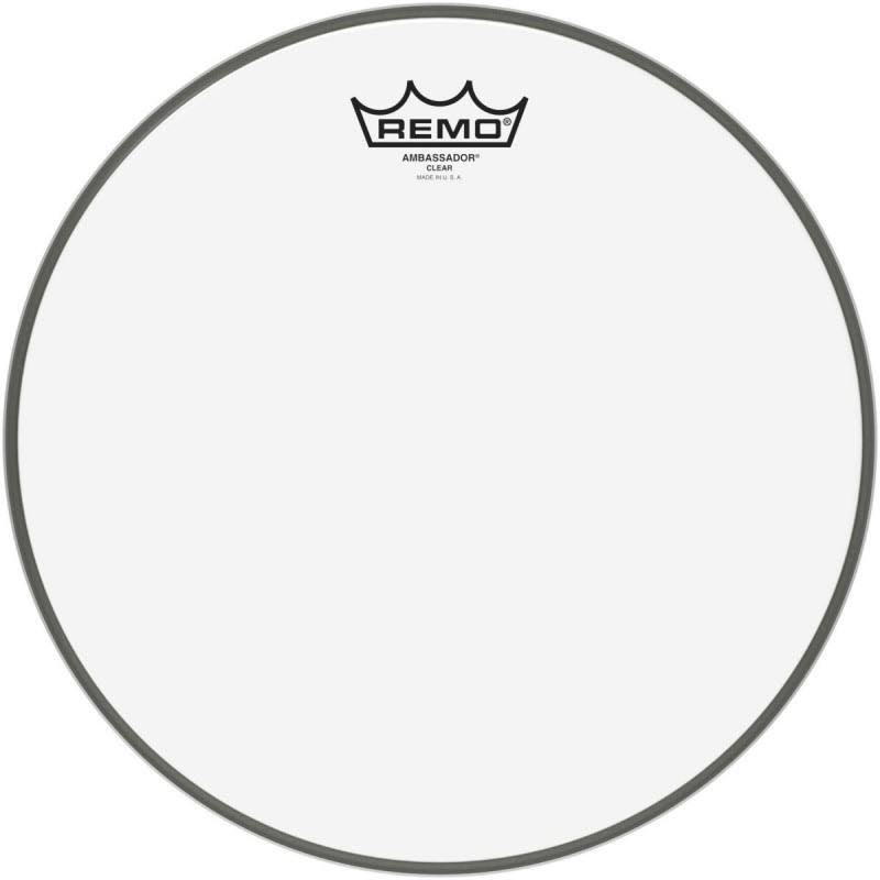 "Remo Ambassador Drum Head - 12"", Clear"