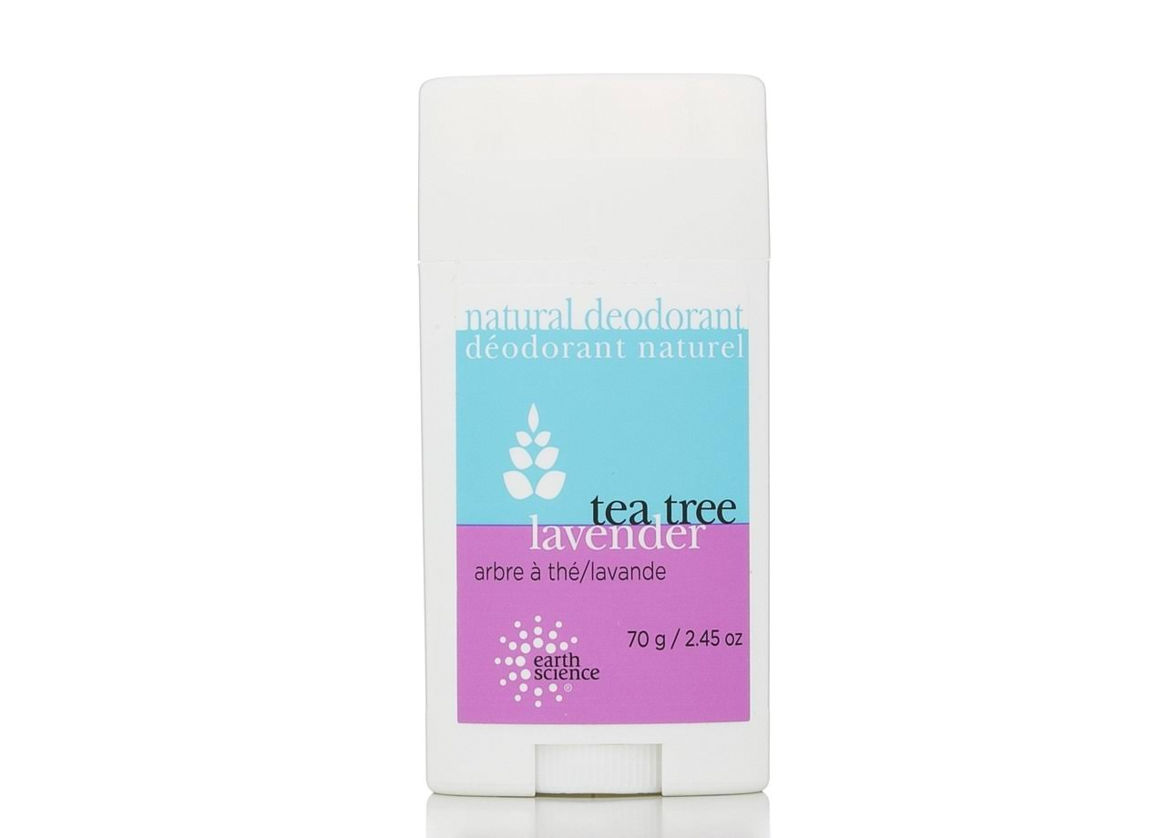 Earth Science Natural Tea Tree Deodorant - Lavender, 70g