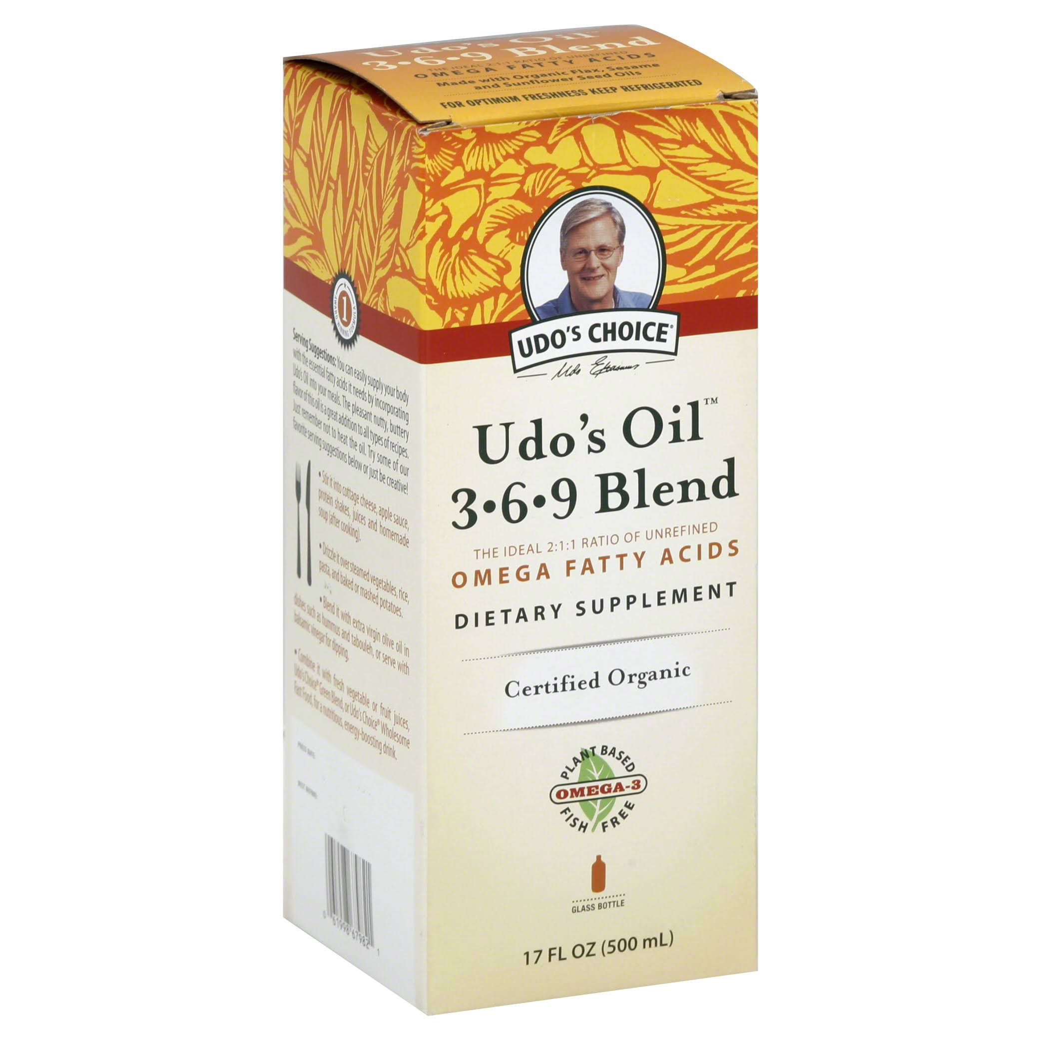 Udo's Choice Oil 3-6-9 Blend - 500ml