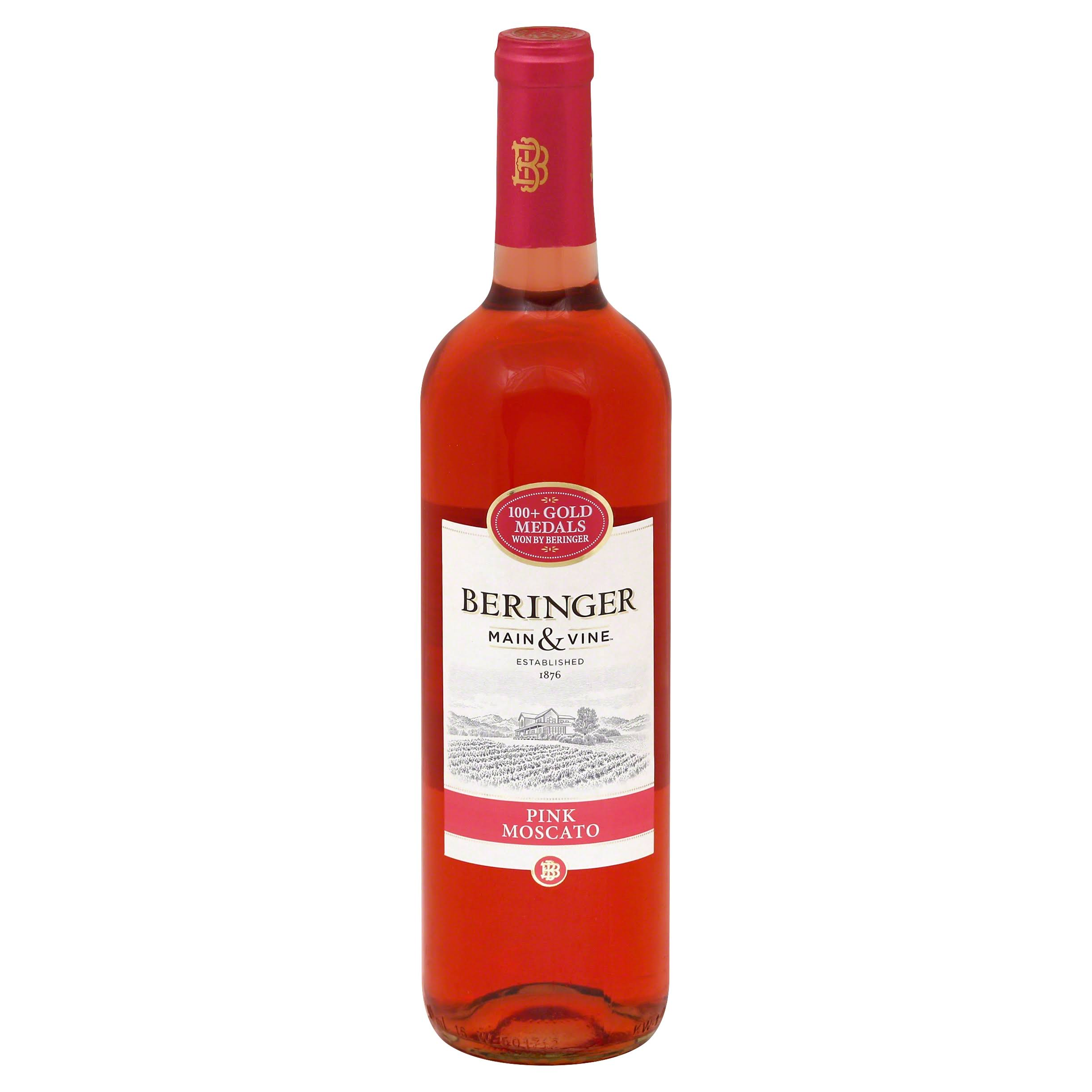 Beringer Main & Vine Moscato, Pink, Chile - 750 ml