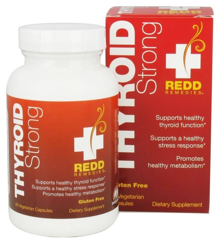 Redd Remedies Thyroid Strong Dietary Supplement - 60ct