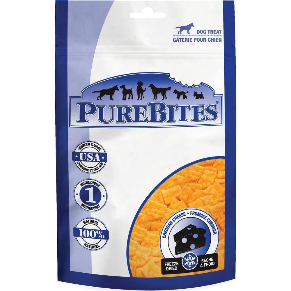 PureBites Dog Treats - Cheddar Cheese, 4.2 oz