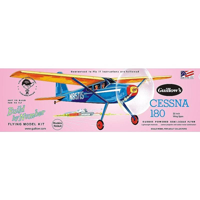 Guillows Cessna 180 Model Kit
