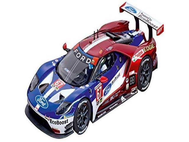 Carrera 23875 Ford GT Race Car #67 Digital 124 Slot Car Racing Vehicle 1:24 Scale
