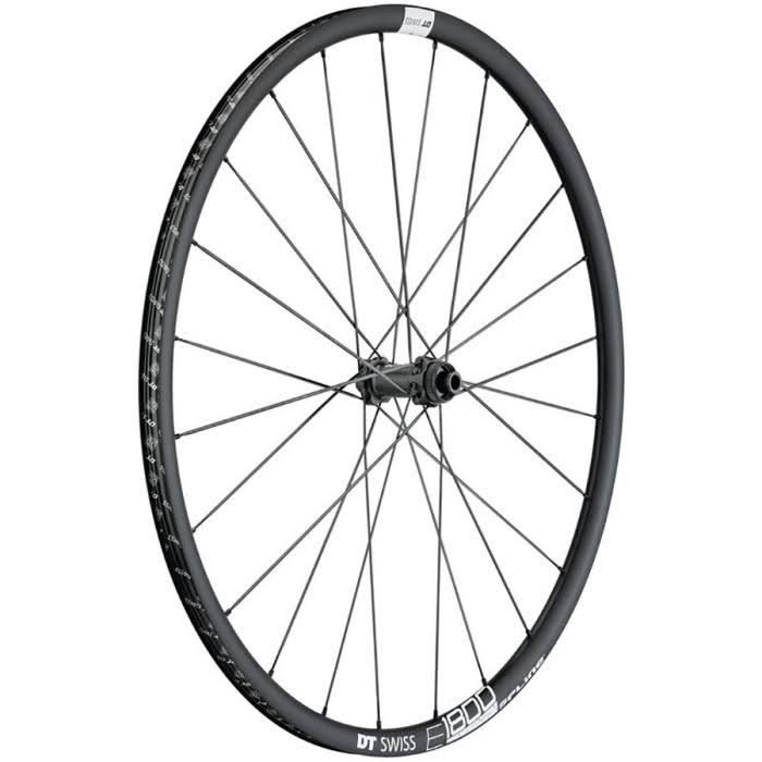 DT Swiss E1800 db23 Spline Front Wheels - 700c, 12 x 100mm, Centerlock