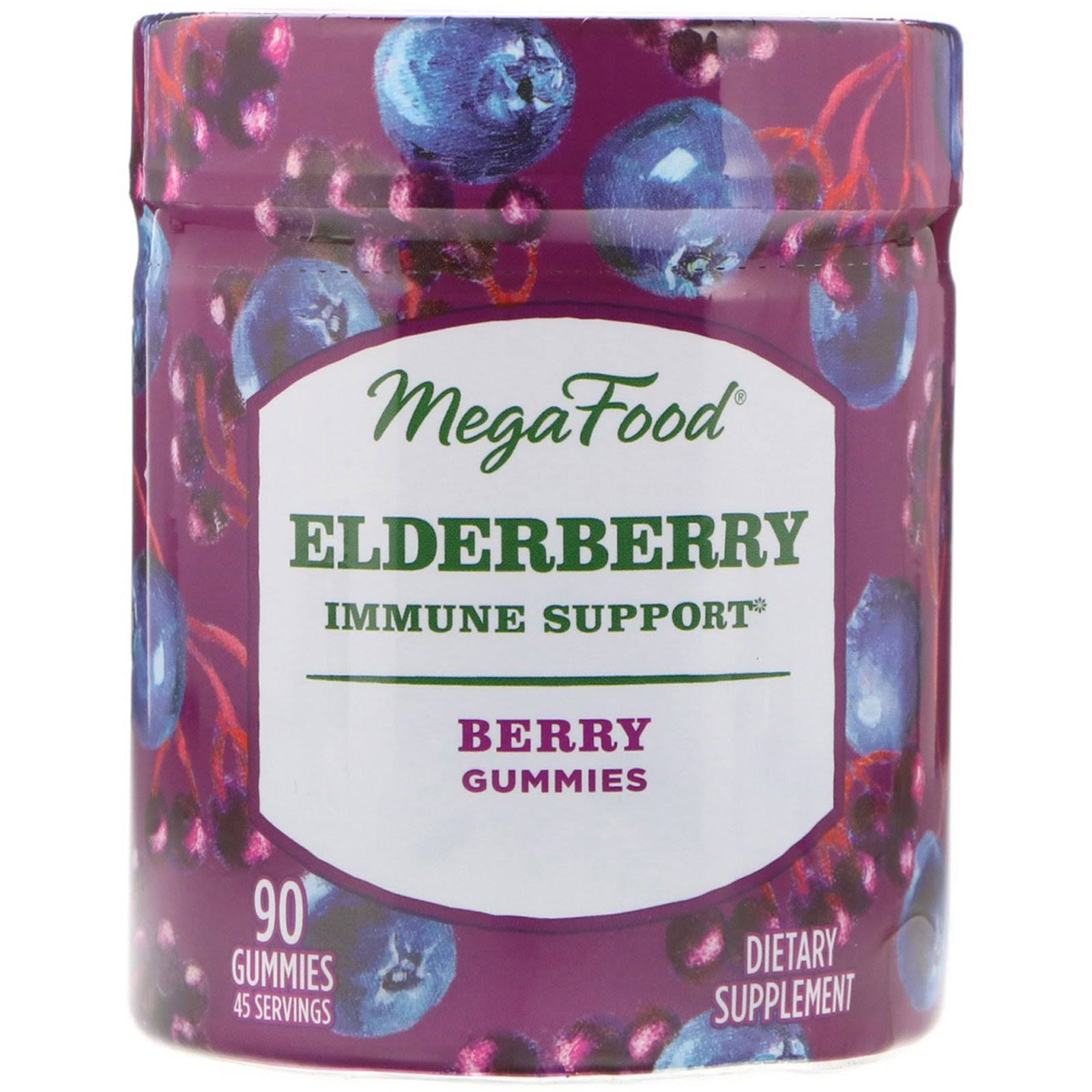 MegaFood - Elderberry Immune Support - 90 Gummies