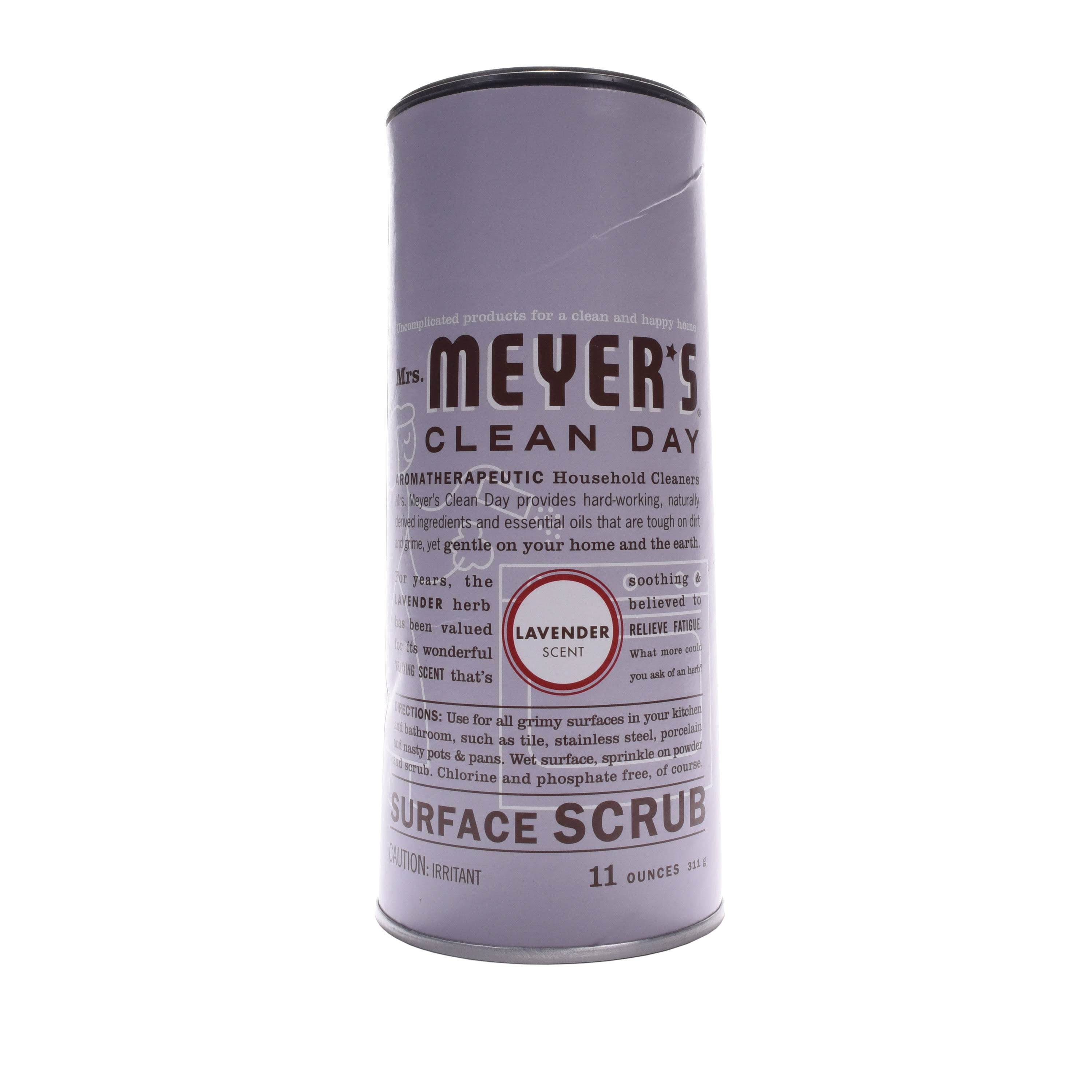 Mrs Meyers Clean Day Surface Scrub, Lavender Scent - 11 oz