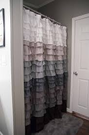 Pink Ruffle Curtain Topper by Ruffle Shower Curtain For The Home Pinterest Ruffle Shower
