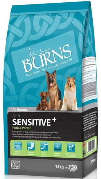 Burns – Adult Sensitive+ Pork & Potato