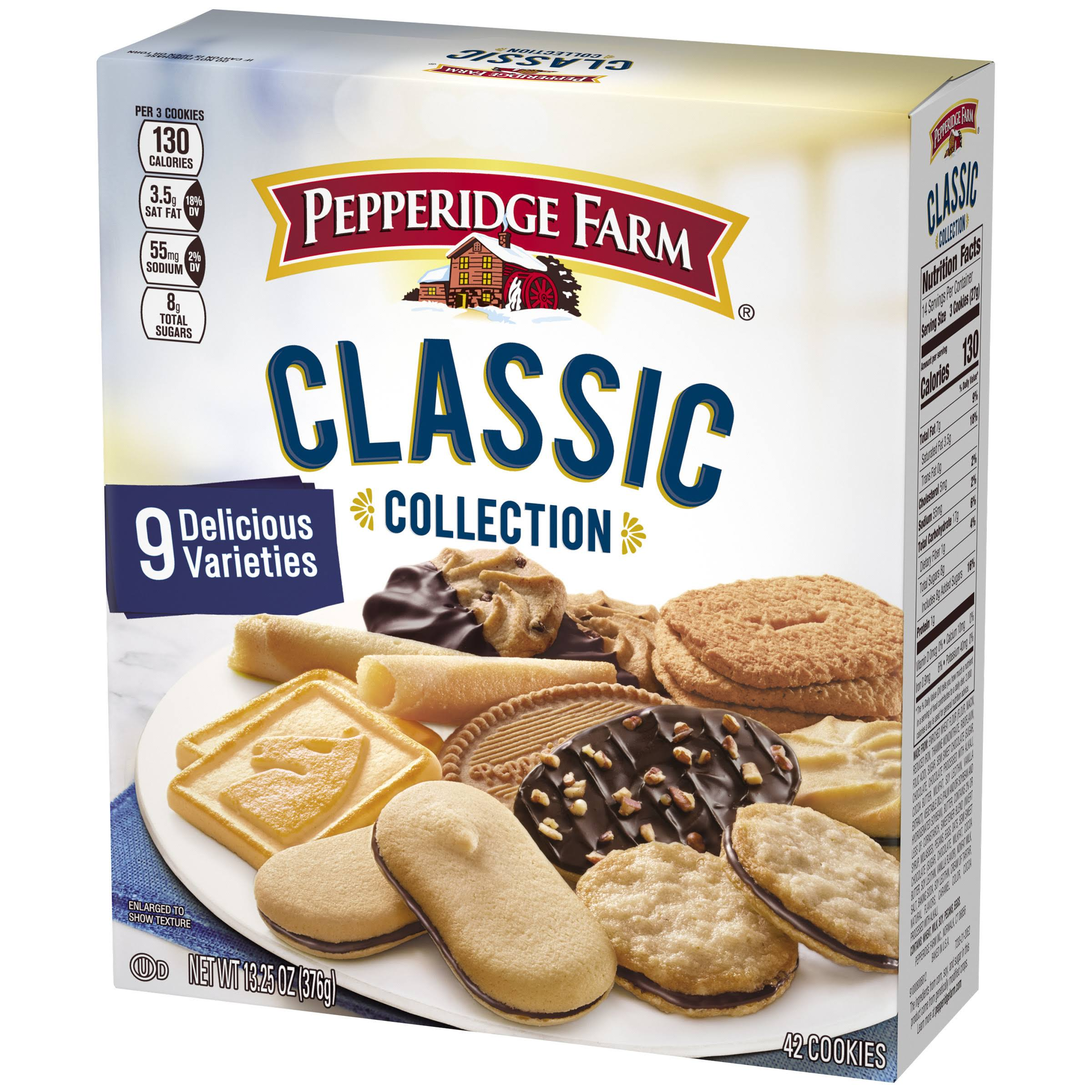 Pepperidge Farm Classic Collection Cookies - 376g