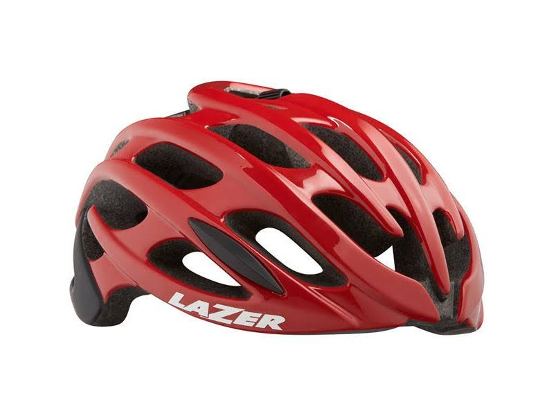 Lazer Blade Cycling Helmet - Red/Black, Medium
