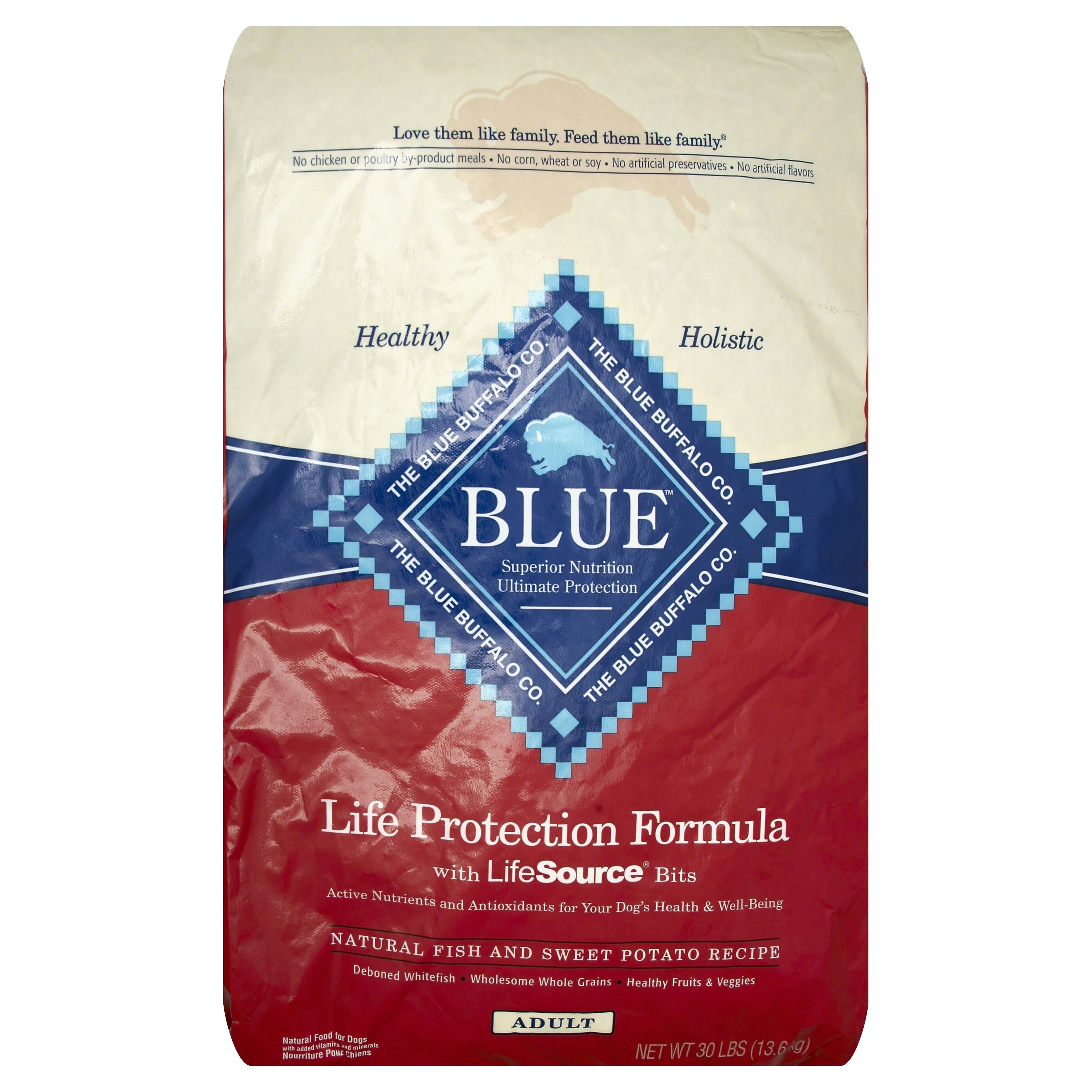 Blue Buffalo Life Protection Formula Dog Food - Fish & Sweet Potato