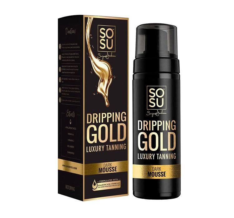 SOSU Dripping Gold Luxury Tanning Dark Mousse - 150ml