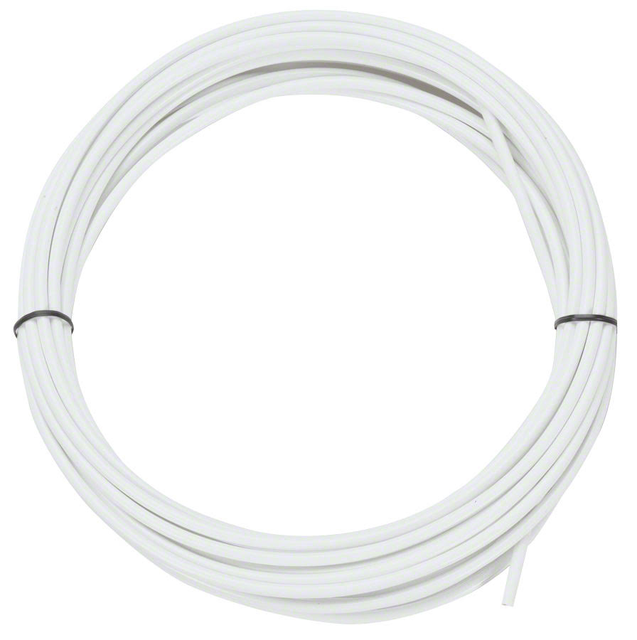 Jagwire Lex Bicycle Shift Cable Housing - White, 25', 4mm