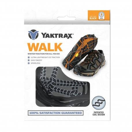 Yaktrax Walk Traction Cleats - Black, Medium
