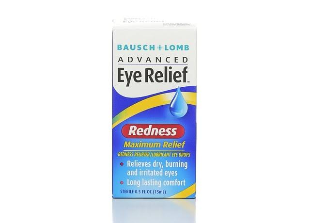 Bausch + Lomb Advanced Eye Relief Maximum Redness Reliever/Lubricant Eye Drops