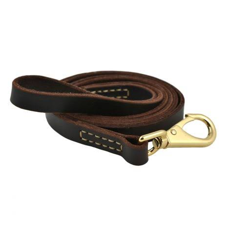 Tall Tails 88217078 CC Leather Dog Leash - Large
