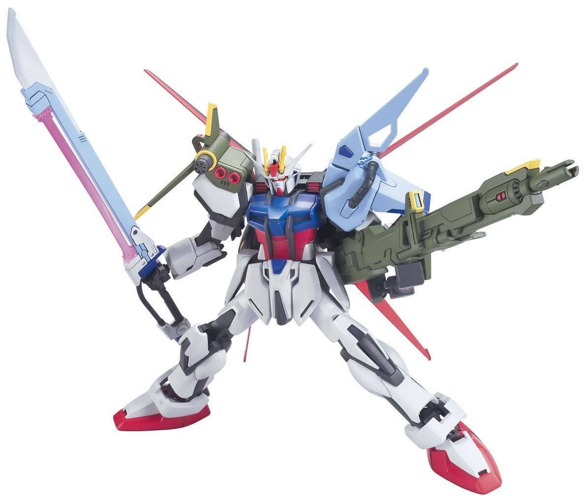Gundam High Grade Seed R17 Perfect Strike Model Kit - 1/144 scale