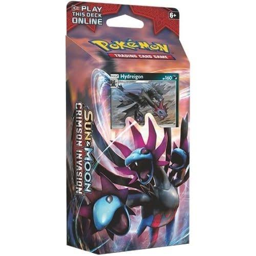 Pokemon Sun and Moon Crimson Invasion Hydreigon Theme Deck
