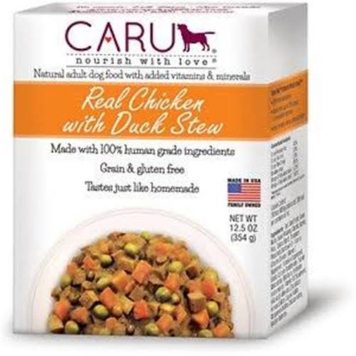 Caru Daily Dish Chicken Stew Wet Dog Food - 12.5oz