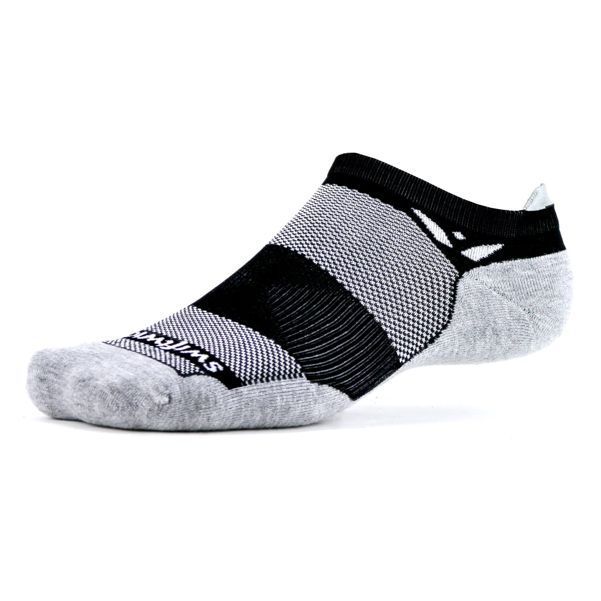 Swiftwick Maxus Zero Tab Socks-Black XL