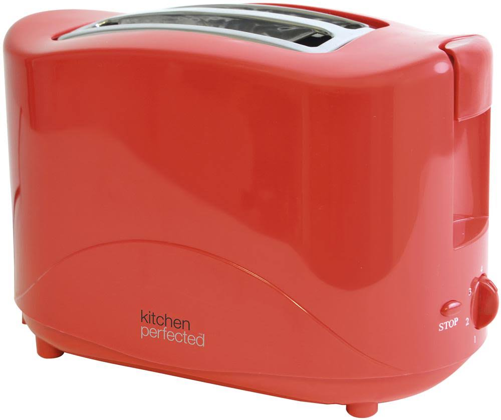 Lloytron Kitchen Perfected 2 Slice Toaster - Red