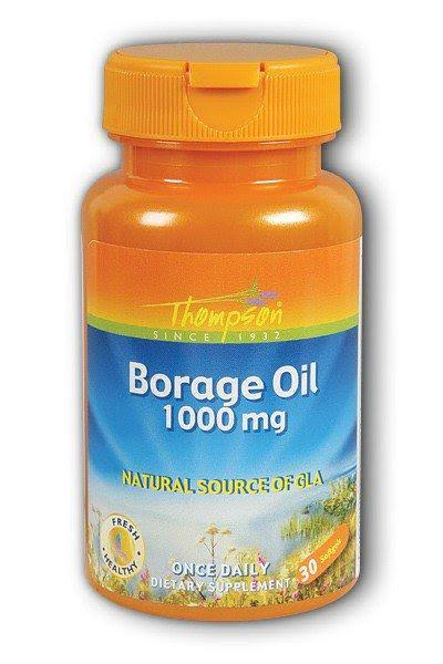 Thompson Borage Oil - 30 Softgel