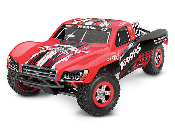 Traxxas Slash 4x4 Short Course RTR RC Truck Mark Jenkins RC Model Vehicle Kit - 1:16 Scale