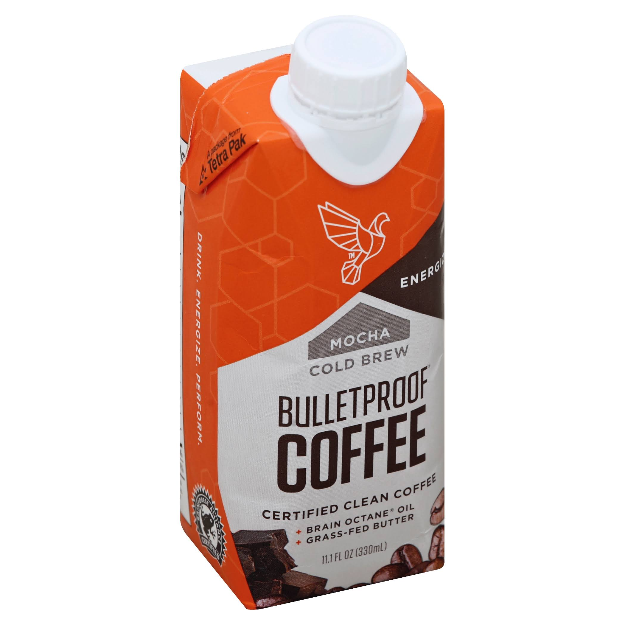 Bulletproof Coffee, Cold Brew, Mocha - 11.1 fl oz